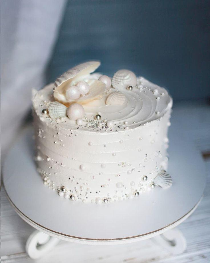 Торт в виде жемчужины рецепт с фото