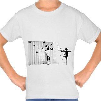 Sokak Sanatı Kendin Tasarla - Çocuk Tişört