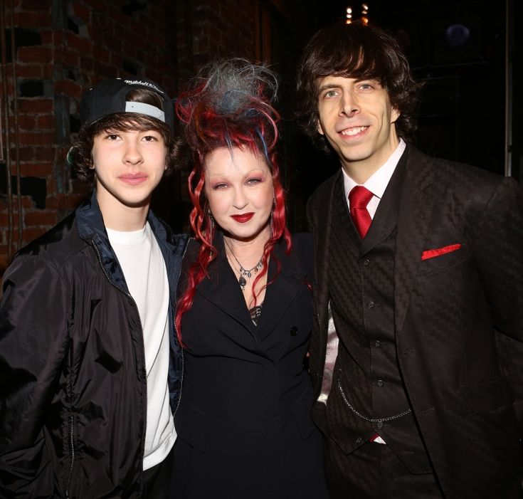 Cyndi Lauper Husband David Thornton | Photo Coverage: Inside the KINKY BOOTS Gypsy Robe Ceremony! High Res ...