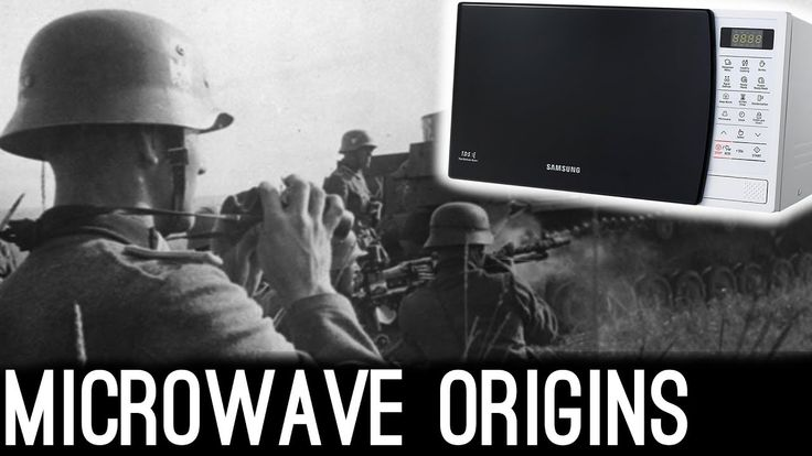 From Total War to Yesterday's Pizza - The Microwave Oven Story