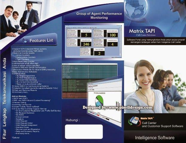 Contoh Brosur Iklan Software