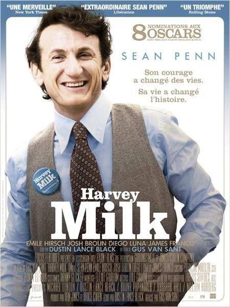 Harvey Milk - Premier politicien américain ouvertement gai, Harvey Milk était interprété au cinéma en 2008 par l'acteur Sean Penn dans un film réalisé par Gus Van Sant.