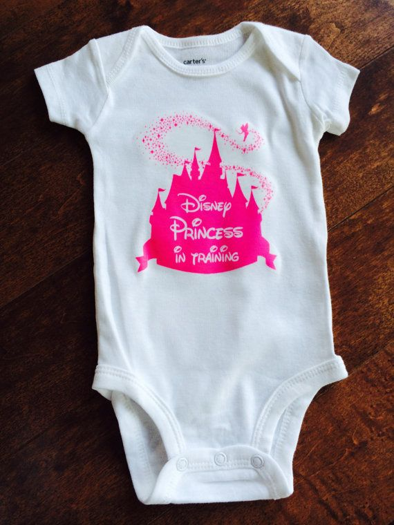 Princess in Training Baby one piece / bodysuit / by MinnieMadeit
