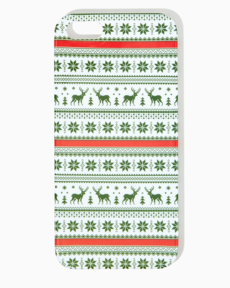Ugly Sweater iPhone 5/5s Case : UPC: 410007090346 #charmingcharlie # ...