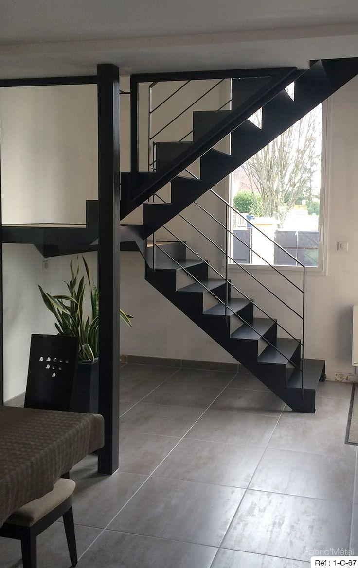25 best ideas about escalier 2 quart tournant on pinterest escalier quart - Escalier quart tournant lapeyre ...