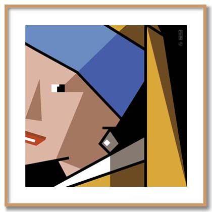 Girl with a Pearl Earring - Bob Kessel
