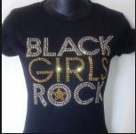 Hey, I found this really awesome Etsy listing at https://www.etsy.com/listing/129763213/black-girls-rock-gold-t-shirt