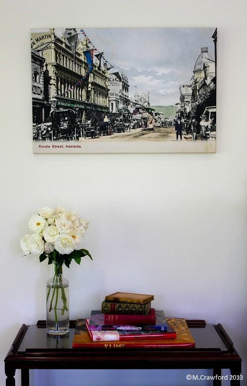 Canvas Print  Adelaide City Streetscape (Rundle Street) c.1906 by CVPublications, $165.00