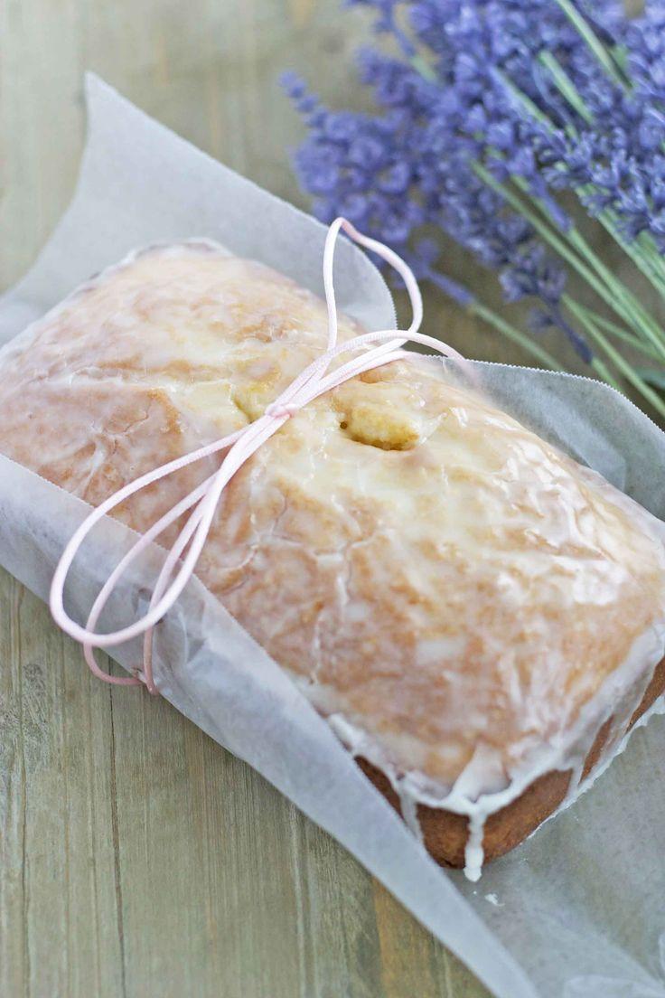 Lavender Loaf with Lemon Glaze is a simple & special treat for brunch or dessert. Definitely going to be serving for Easter brunch!