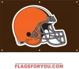 Browns Fan Banner 2ft x 3ft