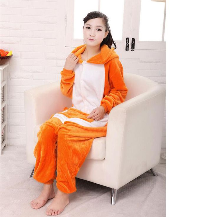 Hot Sale Women's Kangaroo Adult Footed Pajamas Full Sleeve Hooded Polyester Pajama Sets Cosplay Costume Animal Pajamas For Women