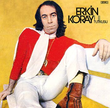 Who is this? I am told this is Turkish folk music legend, Erkin Koray, who is still active in his music. I'm tranferring this pin to my Wicked Cool board. Not Wackadoo at all :)