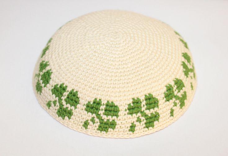 Lujo Patrón De Crochet Kippah Ornamento - Coser Ideas Para Vender ...