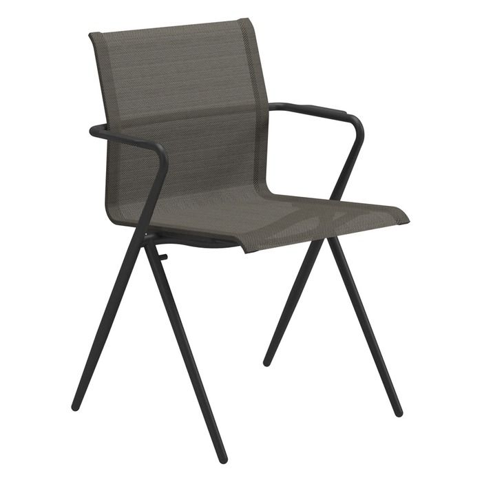 Gloster   Ryder Stacking Chair With Arms Net Price $879. Stacking ChairsFolding  ChairTerraceCottage ExteriorOutdoor FurnitureSanta CruzHall