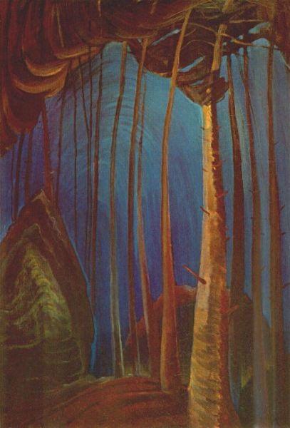 """Emily Carr Canadian 1871 - 1945 """"Blue Sky, c1932"""""""