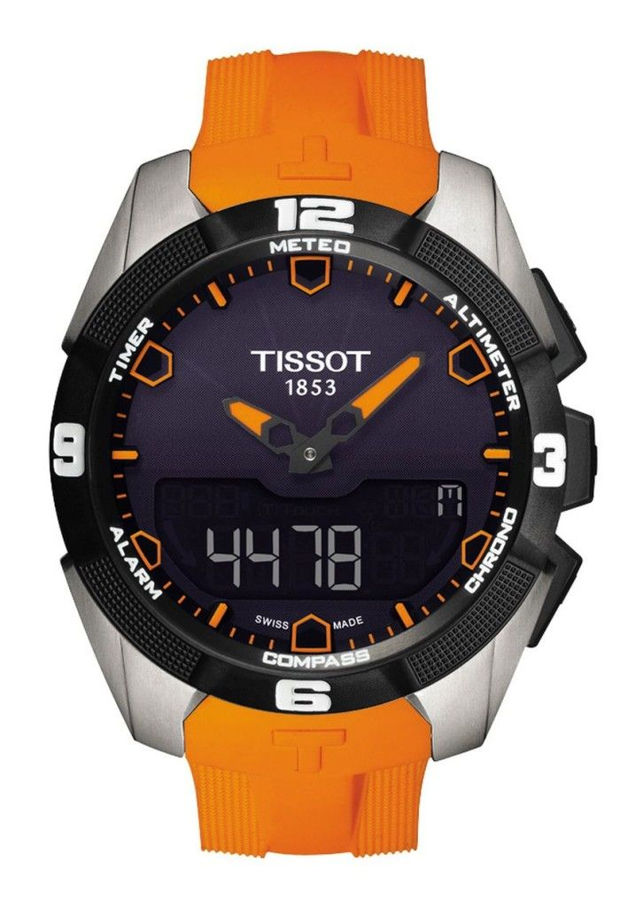 """Tissot T-Touch Expert Solar Watch Released - by Patrick Kansa - Read and see more about it on aBlogtoWatch.com """"We knew it was coming because we saw a prototype, but for 2014 Tissot will finally release the light-powered version of their T-Touch. Earlier in 2013, we brought you a preview of the new T-Touch Expert Solar from Tissot. They've just released the watch now..."""" #ABTWBaselworld2014"""