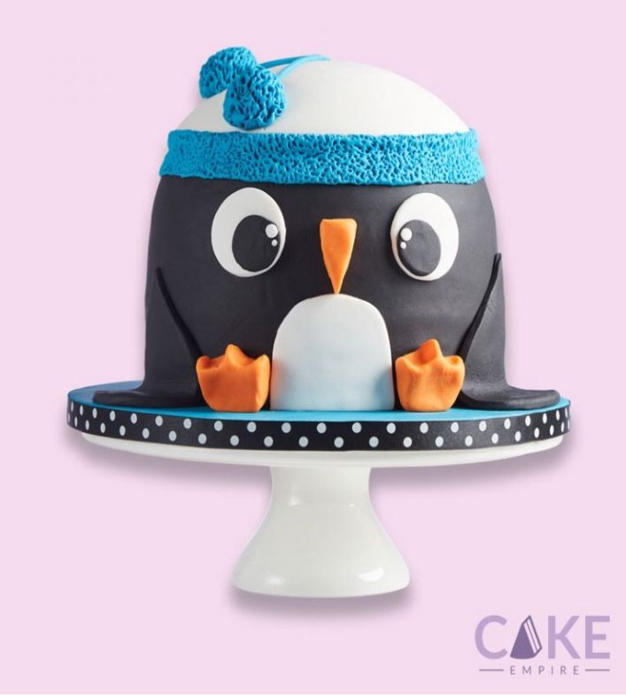 how to make a penguin shaped cake