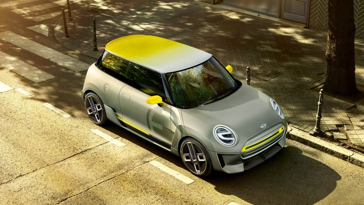 BMW offers a glimpse into the future of its electric MINI cars