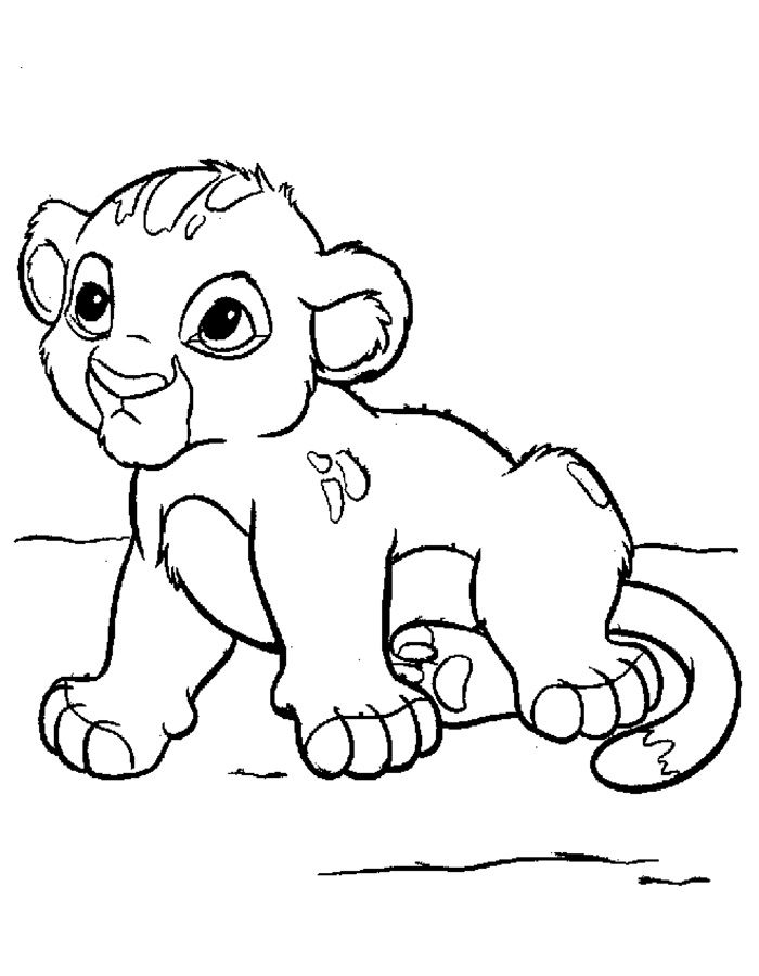 раскраска король лев: 16 тыс изображений найдено в Яндекс.Картинках