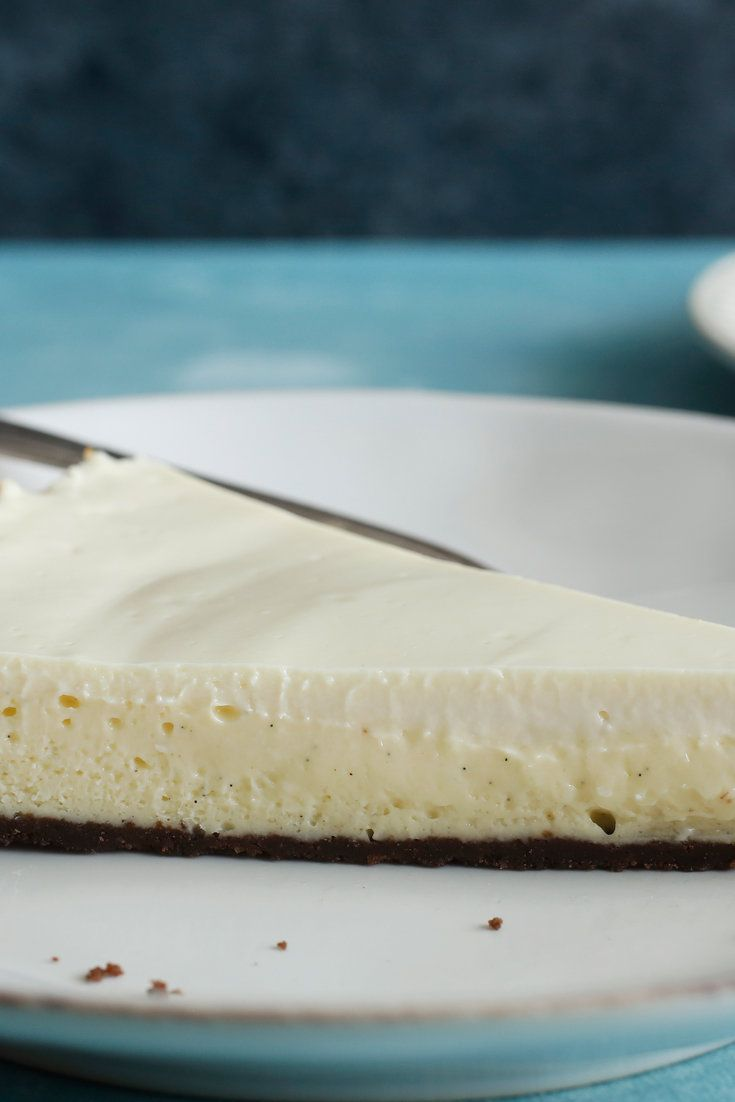 NYT Cooking: This elegant cheesecake is based on Amanda Hesser's mother's simple recipe. The crust is made of Nabisco chocolate wafers and butter. The bottom layer is a fluffy pool of cream cheese, eggs and sugar. The top is a thin layer of sour cream and sugar. Her recipe called for vanilla extract, but this one uses the seeds of one whole vanilla bean, which has a way of ...