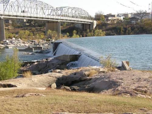 Roy Inks Bridge Over The Llano River In Llano I Have