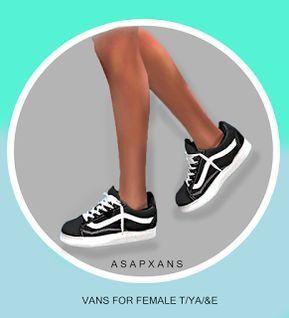 AsapXanax Sims 4 CC Xanax Van Short Sneakers – #alltags #AsapXanax #CC #Short #S…