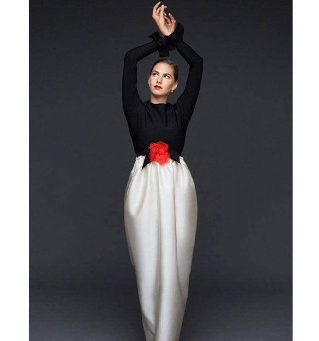 Emma Ferrer - Audrey Hepburn's Grandaughter - Elle