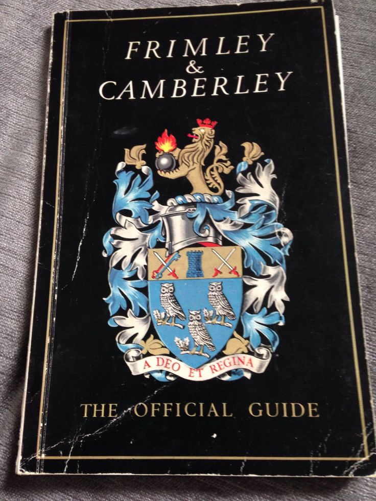 Frimley & Camberley guide c1967