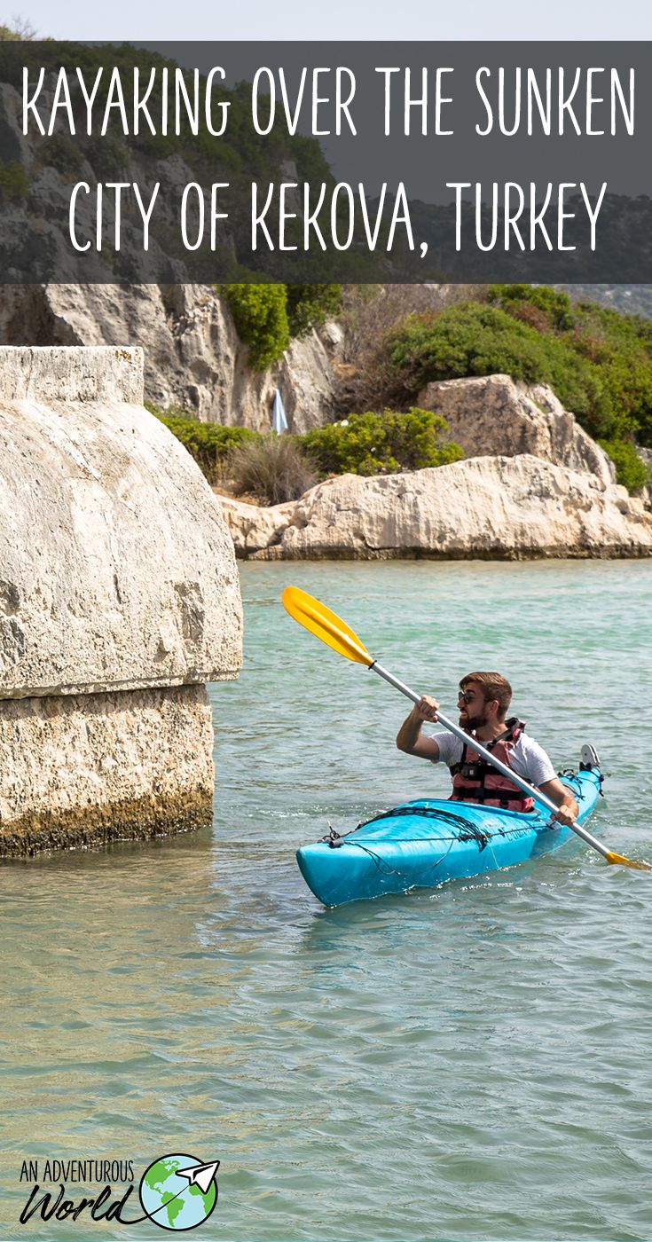 Kayaking over the sunken city of Kekova in southern Turkey, a place frozen in time for nearly 2,000 years, a place now completely forgotten about. Until now that is.