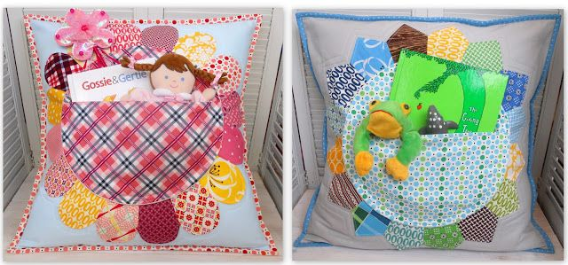 the red pistachio: Preschool Fundraiser - More Pillow Pockets!