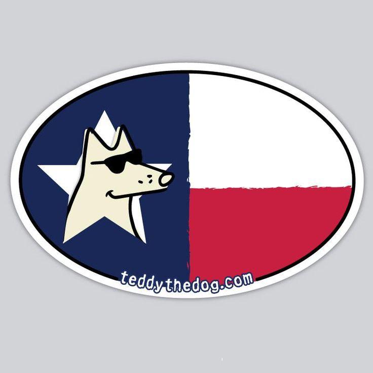 Texas - Car Magnet