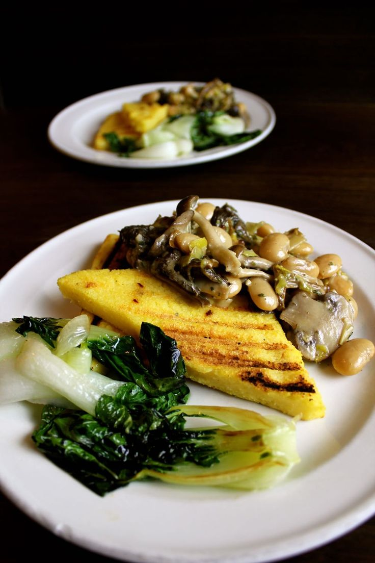 ... polenta, bulgar on Pinterest | Garlic mushrooms, Eggplants and Baked