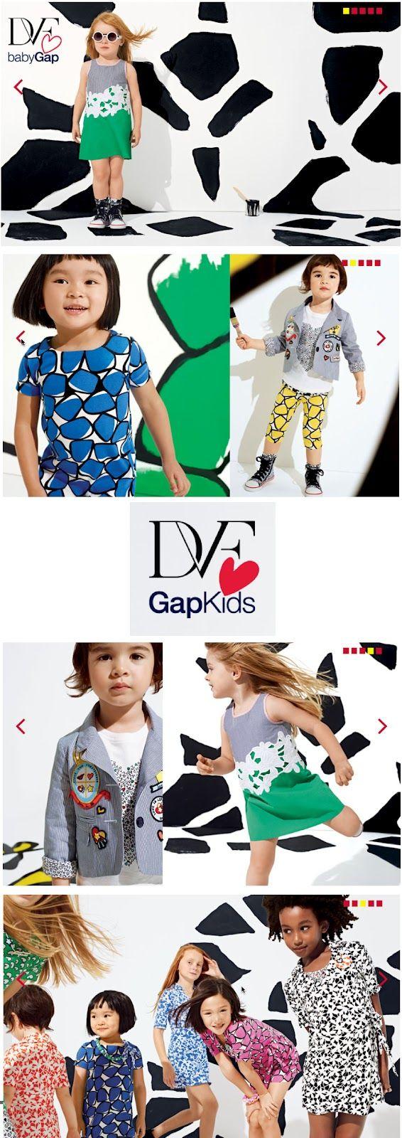 Diane Von Furstenberg for Gap Kids