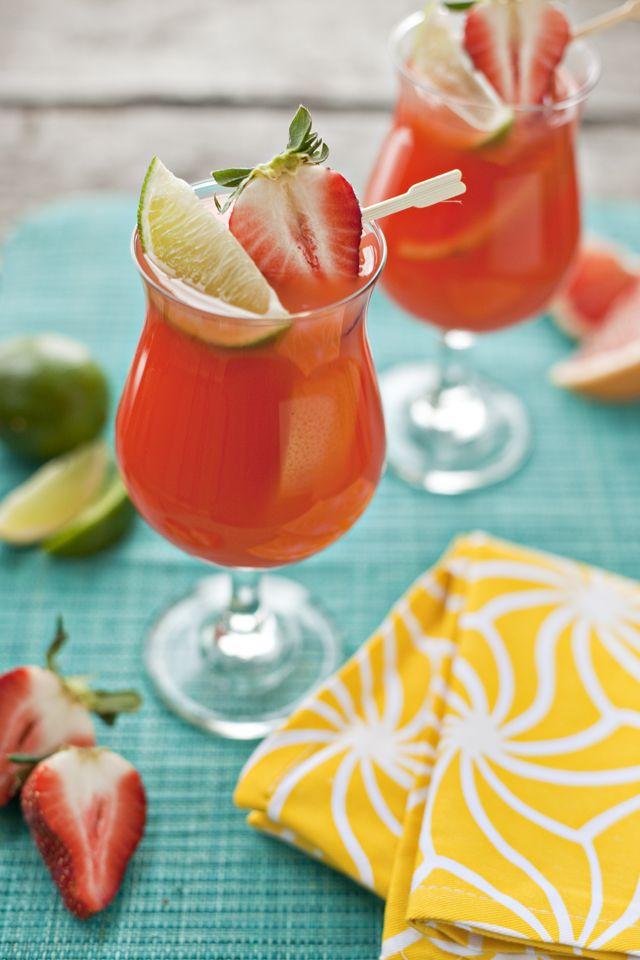 Virgin and Traditional Hurricanes for Mardi Gras >> I want one of these (or four) right about NOW!