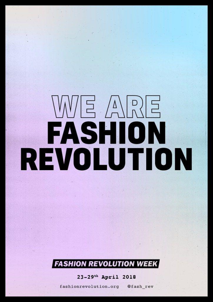 Fashion Revolution Week Revolution Hallbar Livsstil