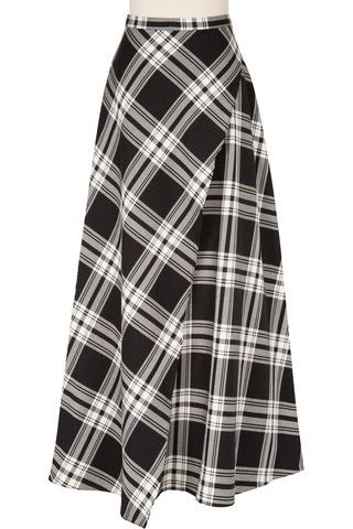 Pretty in Plaid Full Wrap Skirt