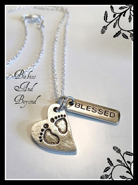 Tiny Preemie Footprints Blessed or Warrior by PrematureBabiesStore