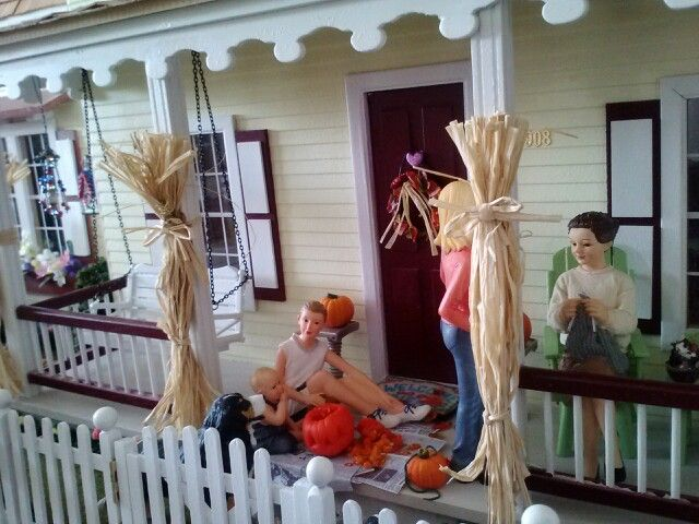 Fall at the farmhouse