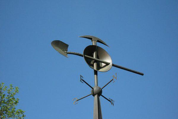 The vane will help keep the turbine head facing the wind.