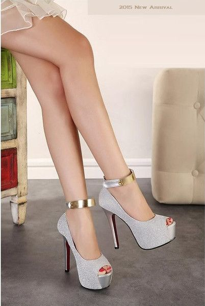 "I NEED!!!! ""Elegant Series"" Ankle Strap High Heels platform pumps Sandals (New Arrival 201"