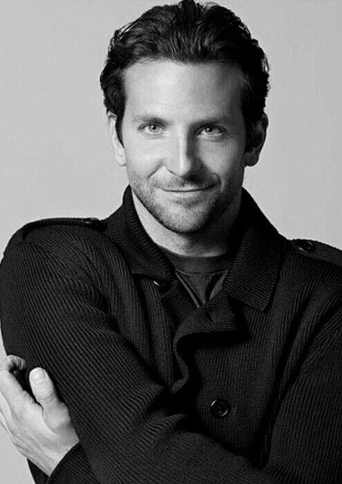 Bradley Cooper longer slick back cut