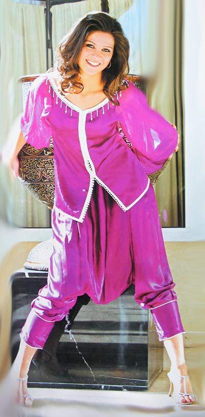 Jabador marocain avec pantalon aladin caftans et jellaba for Plus la taille robes de mariage washington dc