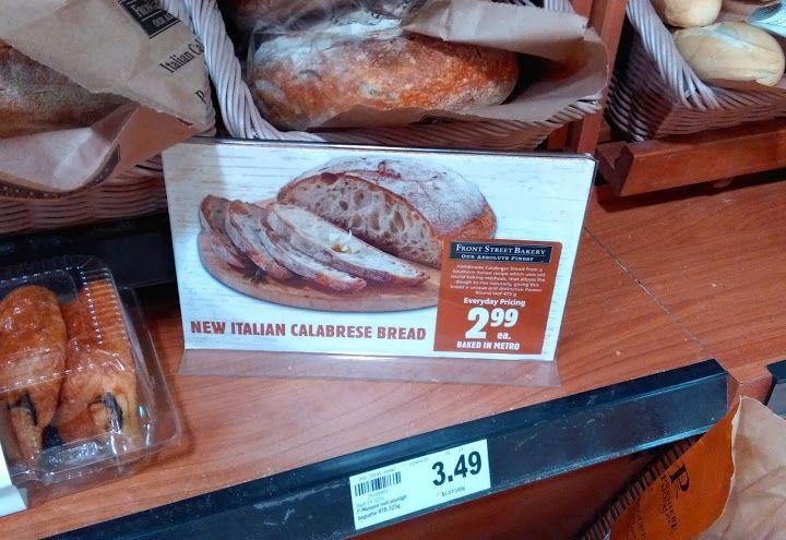 Italian Calabrese bread