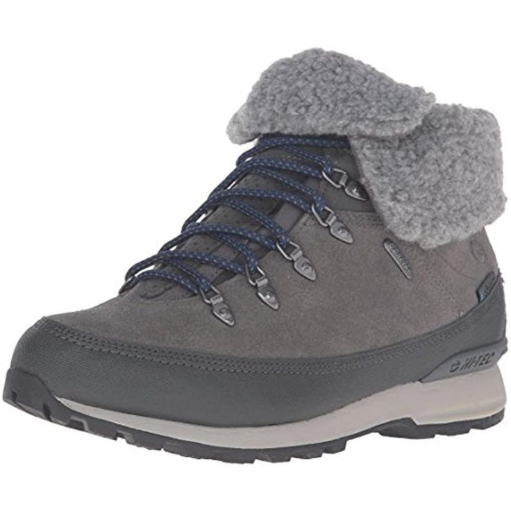 Hi-Tec Womens Kono Espresso Suede Waterproof Hiking Boots