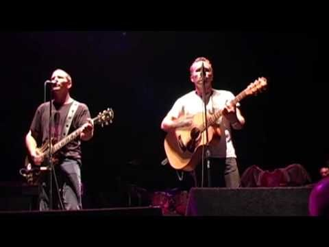 Eddie Vedder & Mark Seymour (Pearl Jam & Hunters and Collectors) play a classic. Best song ever.