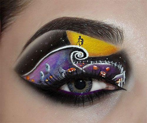 Creative Christmas Party Or Fantasy Eye Make Up Ideas & Looks | X mas Eyeshadows | Girlshue
