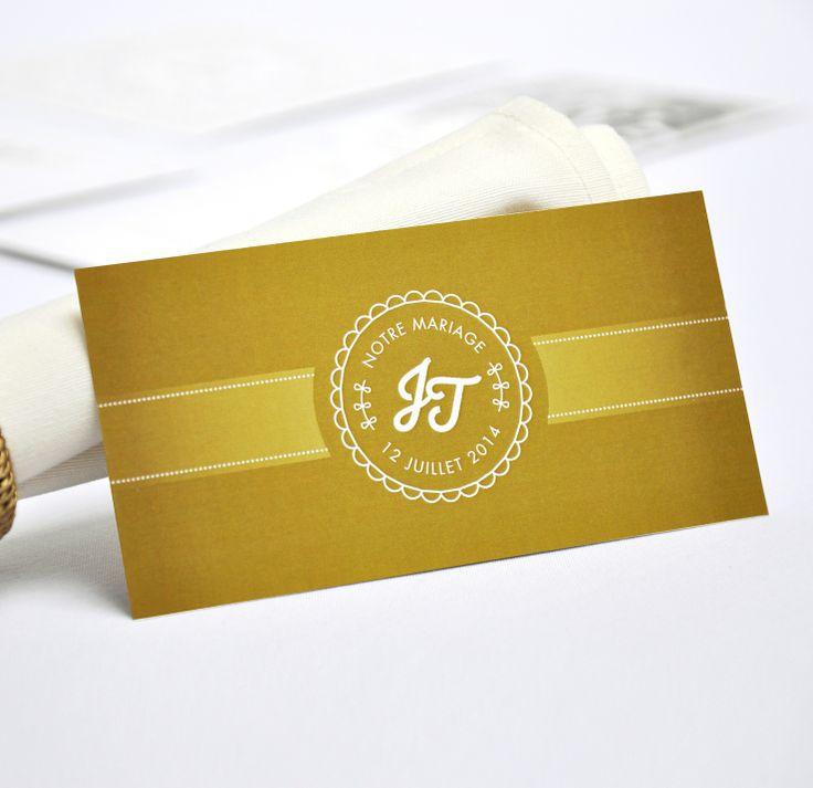 Invitation Repas Chic Dor Mariage Original Cartes Par Printyourlove D Co De Table