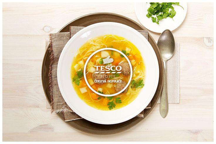 Vývar s játrovými knedlíčky a zeleninou  http://www.tescorecepty.cz/recepty/detail/61-vyvar-s-jatrovymi-knedlicky-a-zeleninou