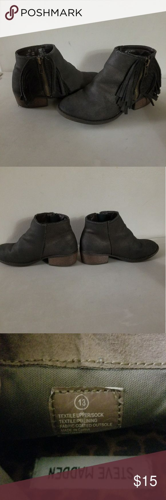 Steve Madden KIDS boots Normal used condition boots  FOR KIDS Steve Madden Shoes Boots