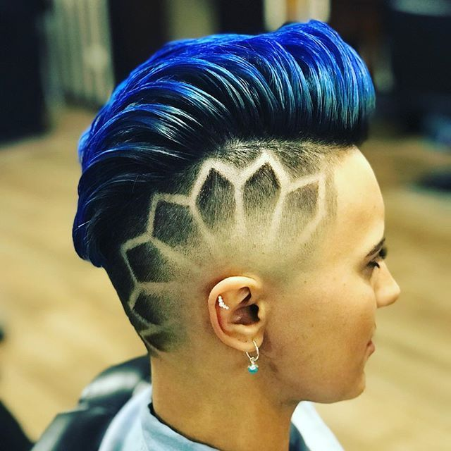 40+ Haircut lines on side of head inspirations